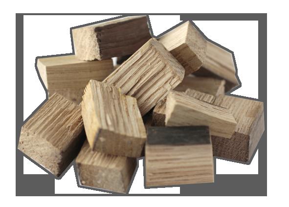 Кубики дубовые