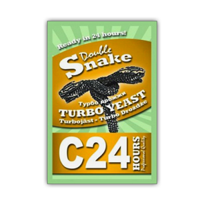 Спиртовые дрожжи Double Snake C24