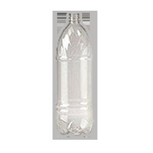 Бутылка ПЭТ, прозрачная