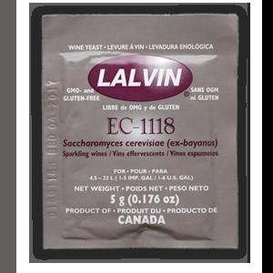 Дрожжи винные Lalvin EC-1118, 5 г