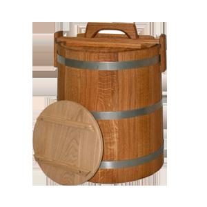 Кадка дубовая для засолки
