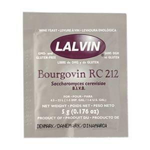 Дрожжи винные Lalvin RC 212