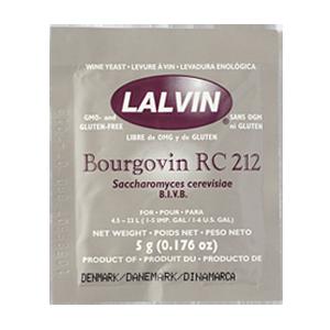 Дрожжи винные Lalvin Bourgovin RC 212, 5 г