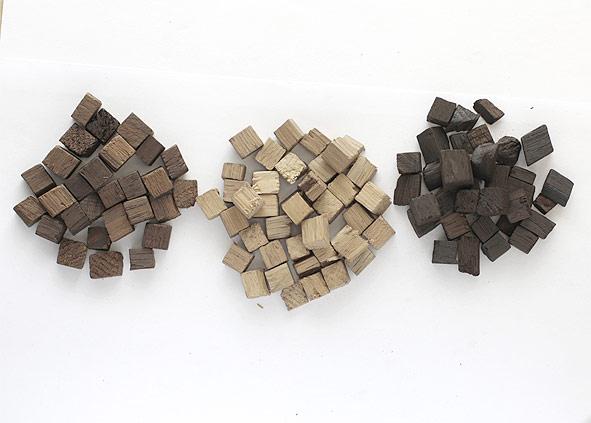 Кубики дубовые из славонского дуба