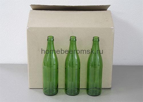 Бутылка зеленая 0,5 л
