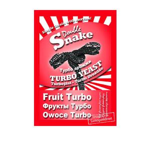 Дрожжи для фруктовых браг Double Snake Fruit Turbo, 49 г