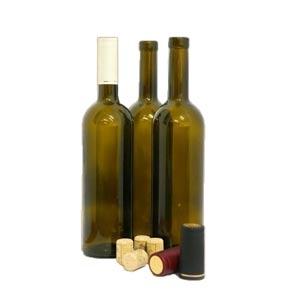 Бутылка винная Бордо 0,75 л