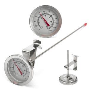 Термометр с щупом и клипсой