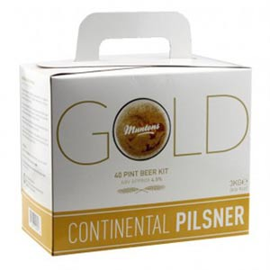 Muntons GOLD Continental Pilsner 3 кг