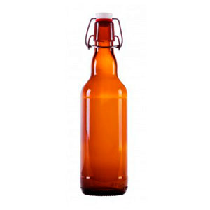 Бутылка с бугельной пробкой