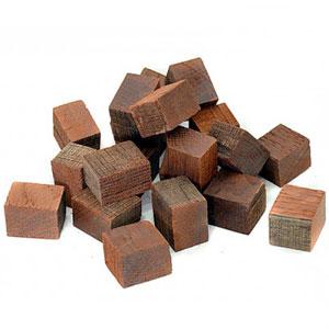Кубики дубовые средний обжиг