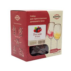Набор для приготовления домашнего вина Лесная ягода